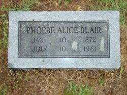 Pheobe Alice <i>Langham</i> Blair