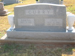 James Oren Rainey Curry
