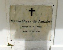 Maria <i>De La Ossa</i> De Amador