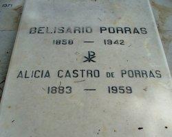 Dr Belisario Porras Barahona