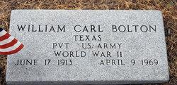 William Carl Bolton