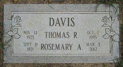 Rosemary A <i>Simmet</i> Davis