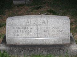 Margaret <i>Oberinger</i> Alstat