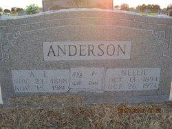 Nellie Aline <i>Williams</i> Anderson