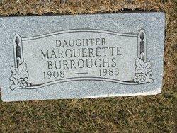 Marguerette <i>Hill</i> Burroughs