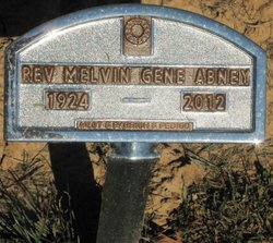 Rev Melvin G. Abney