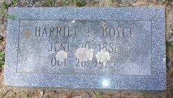 Harriett L Boyce