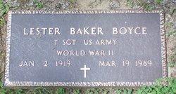Lester Baker Boyce