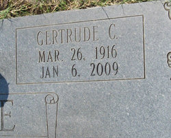 Gertrude <i>Chavers</i> Fore