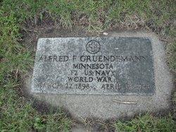 Alfred Fred Gruendemann