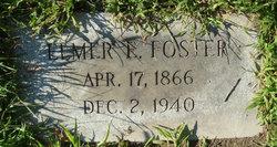 Elmer E Foster