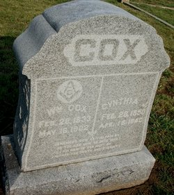 Cynthia Jane <i>Sanders</i> Cox