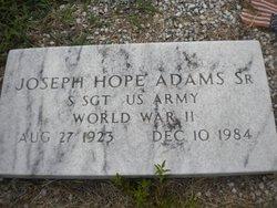 Joseph Hope Adams, Sr