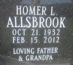 Homer L Allsbrook
