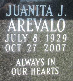 Juanita J Arevalo