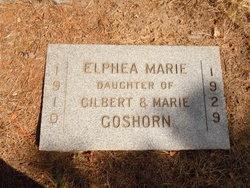 Elphea Marie Effie Goshorn