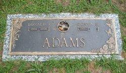Donald K Adams
