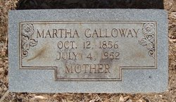 Martha Ann <i>Vann</i> Galloway