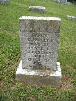 Nancy Elizabeth <i>Porter</i> Addington