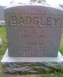 Harriet <i>Ragan</i> Badgley
