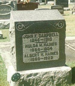 Hulda Marie <i>Mosey</i> Haines