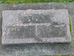 Irene Hazel <i>Montgomery</i> Brown
