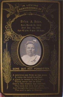 Evelyn Augusta <i>Chamberlain</i> Boice