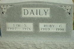 Ruby Grace <i>McConnell</i> Daily