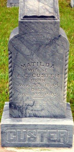 Matilda Custer