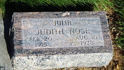Julia Judith Nose