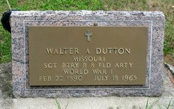 Walter A Dutton