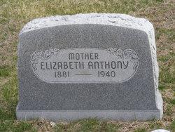 Elizabeth May Lizzie <i>Smith</i> Anthony