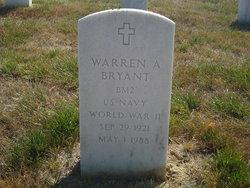Warren A Bryant