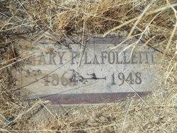 Mary F <i>McPherson</i> LaFollette
