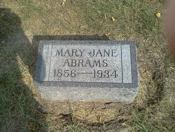 Mary Jane <i>Frost</i> Abrams