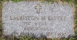 Lauriston M Battey