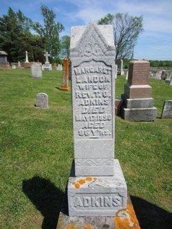 Margaret <i>Landon</i> Adkins