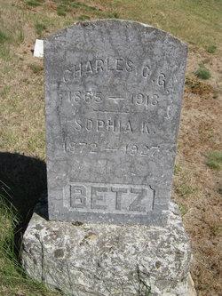 Sophia Katherine <i>Maurer</i> Betz