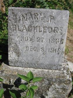 Mary P. <i>Paxson</i> Blackledge