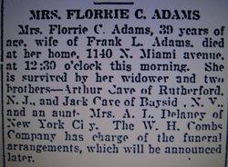 Florrie Adams