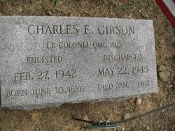 Lt. Col. Charles E. Gibson