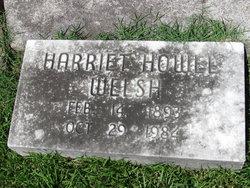 Harriet <i>Howel</i> Welsh