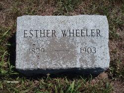 Esther <i>Sampson</i> Wheeler