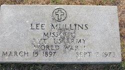 Robert Lee Lee Mullins