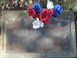 Sadie Wilma <i>McCoy</i> Derden