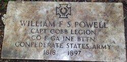Rev William Francis <i>Speight</i> Powell