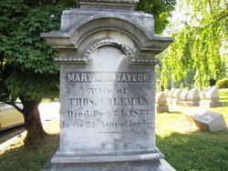 Mary Ann <i>Taylor</i> Coleman