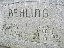 Mariam Genevieve <i>Germanson</i> Behling