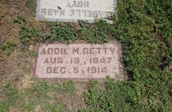 Addie M Getty