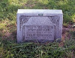 Tillie <i>Horwitz</i> Gershon